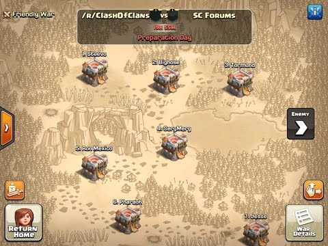 Clash of Clans | Reddit vs. Forums War Part #2 (TH9) Fixed Audio