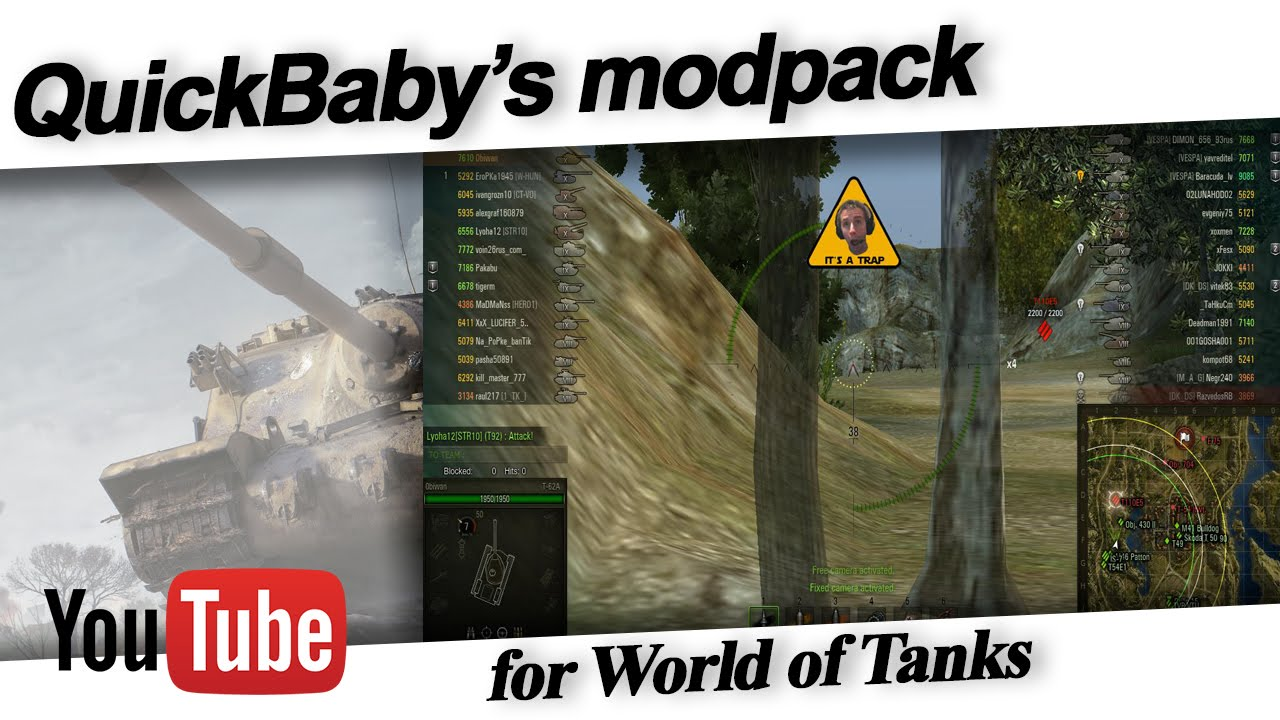 QuickyBaby's Modpack with XVM 1.4