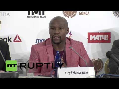 Russia: Floyd Mayweather Jr Hits Moscow To Take Russian Boxing 'to The Next Level'