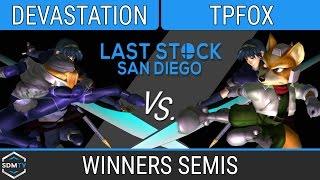 lssd 80 devastation sheikmarth vs tpfox foxmarth ssbm winners semis smash melee
