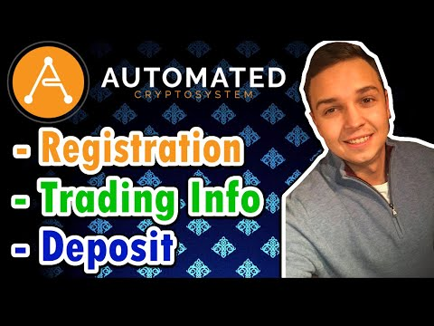 Automated Crypto System -  How To Register Properly (IMPORTANT) 💰