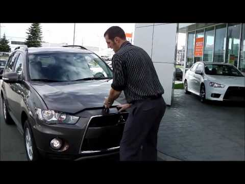 2012 4wd Mitsubishi Outlander LS walkaround video