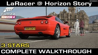 Forza Horizon 4 - LaRacer @ Horizon Story (3 Stars Complete Walkthrough)