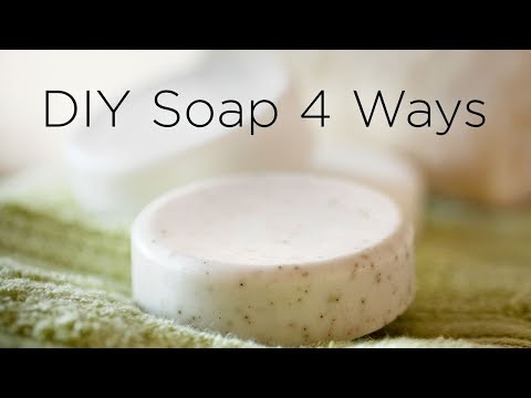 How to Make Soap at Home - 4 Ways