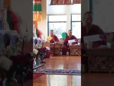 Chod practice with Garchen Rinpoche