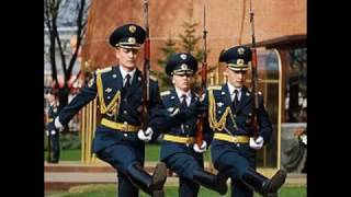 Прусский строевой шаг Российской армии