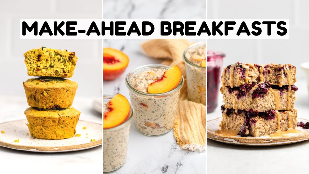 Budget-Friendly Make-Ahead Breakfast Ideas (Vegan)