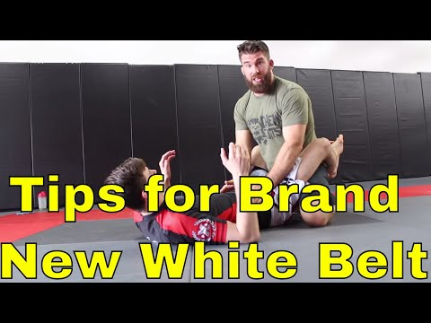 What to Focus On as a New BJJ White Belt with No Submissions