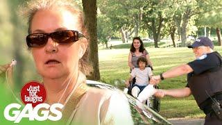 Cop Rips Artificial Leg Off Kid To Break Car Window