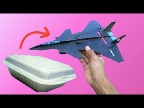 how to make micro rc plane j20 CHINA homemade
