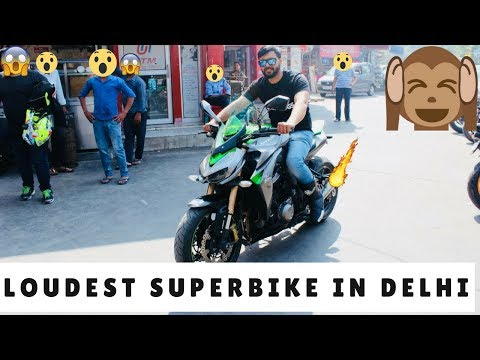 SUPER EXTREME LOUD SUPERBIKE LOUDEST IN DELHI