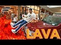 FLOOR IS LAVA CHALLENGE WITH STRANGERS!
