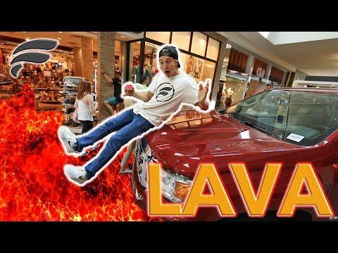 FLOOR IS LAVA CHALLENGE WITH STRANGERS!