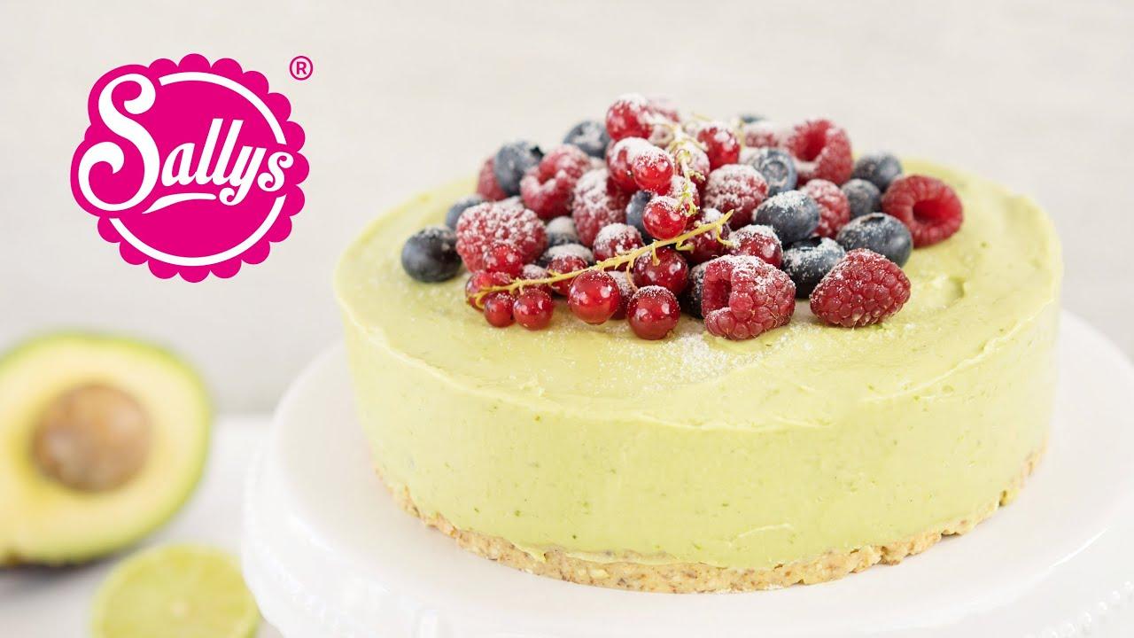 Vegane Sommertorte Mit Avocadocreme No Bake Cake Youtube