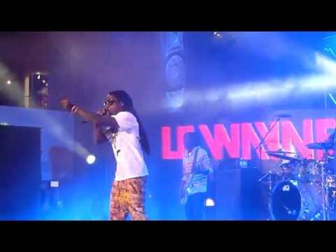Lil Wayne-Blunt Blowin'/ John Live at H&H Courtyard,Hollywood CA (3/1/12) [New 2012]