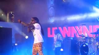 Lil Wayne-Blunt Blowin'/ John Live at H&H Courtyard,Hollywood CA (3/1/12) [New 2012]