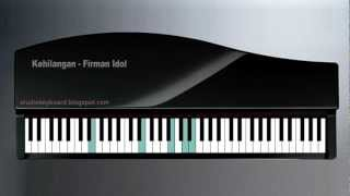 Kehilangan   Firman Idol on Keyboard