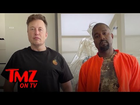 Kanye West & Elon Musk Are Like BFFs Now | TMZ