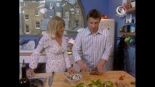 Первое свидание. Жить вкусно с Джейми Оливером. Тунец в тайском стиле, фруктовый салат, тюрбо