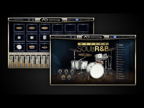 Addictive Drums 2: Modern Soul and R&B ADpak