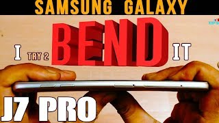 Samsung Galaxy J7 Pro BEND & Scratch TESTED (Durability Test) Premium Budget Phone 2017 How Durable?