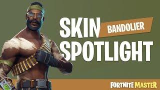 Bandolier Skin Spotlight (Fortnite Battle Royale)