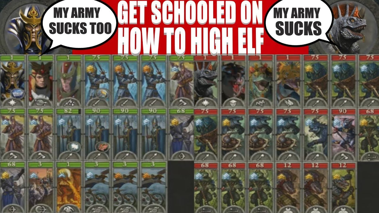 Download Get Schooled on How To High Elf