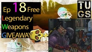 Episode 18 Free Legendary Weapons Giveaway Borderlands 2 With Bunz & Killasnake