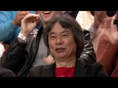 Jimmy Fallon asks Miyamoto to be in a Nintendo game