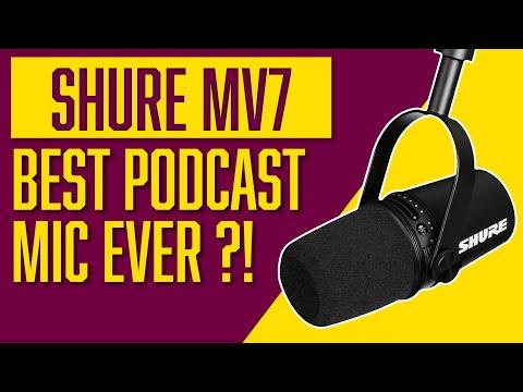 Shure MV7 Review | MV7 vs SM7B Comparison