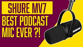 Shure MV7 Review | MV7 vs SM7B Comparison