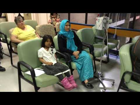 Saskatoon Symphony Youth Strings Orchestra held a special performance for pediatric patients at...