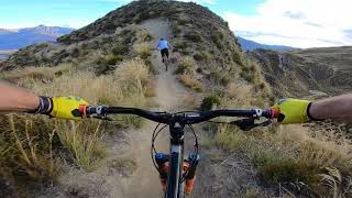 Rude Rock MTB Enduro Trail in New Zealand following Brendog! #OiOi