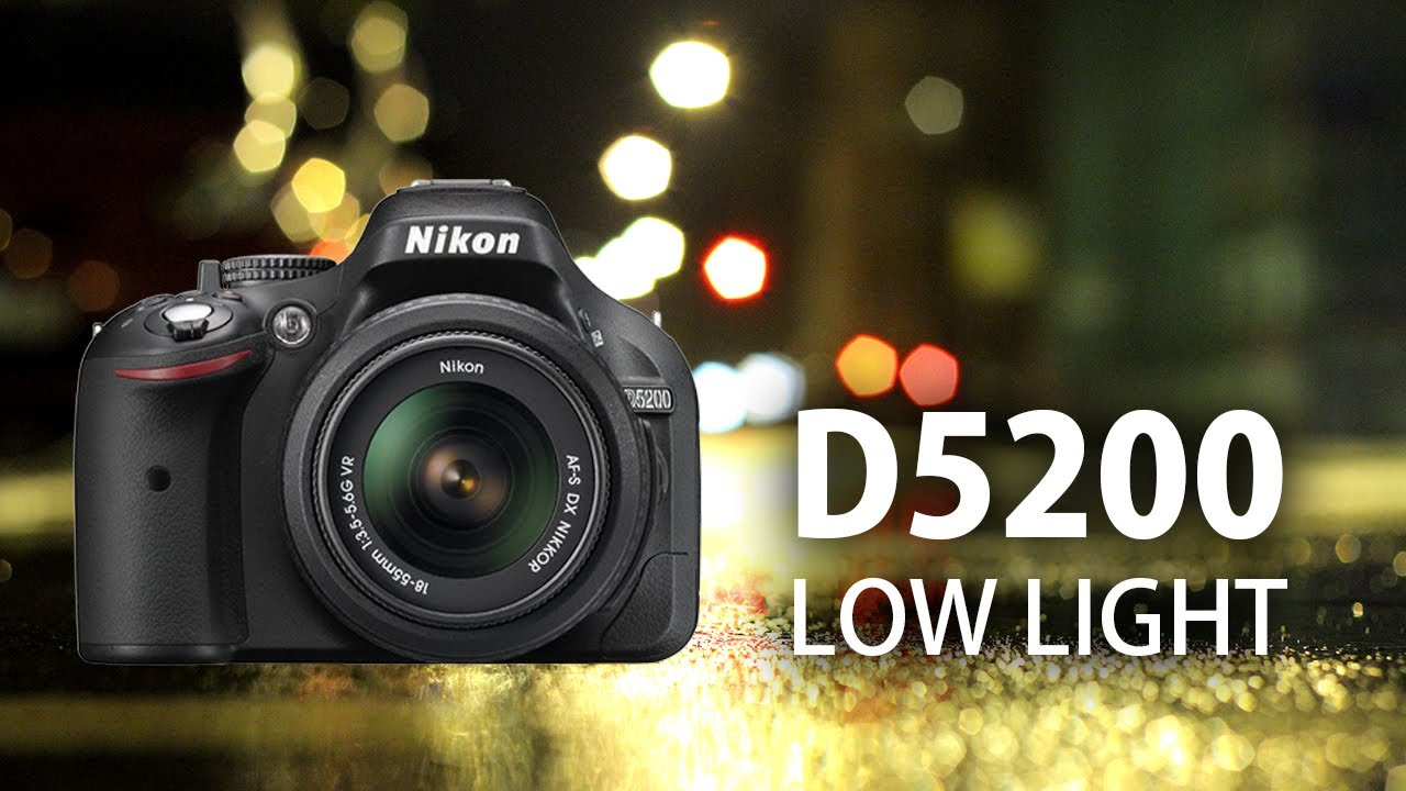 & Nikon D5200: Low Light Video Test - YouTube