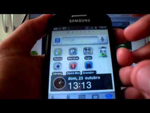 Review Samsung Galaxy Fit - S5670 [HD] PT - Android 2.3.4 - Principais Apps, func. e dúvidas