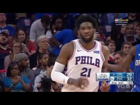 Orlando Magic vs Philadelphia Sixers Full Game Highlights 01-10-2018, NBA Preseason