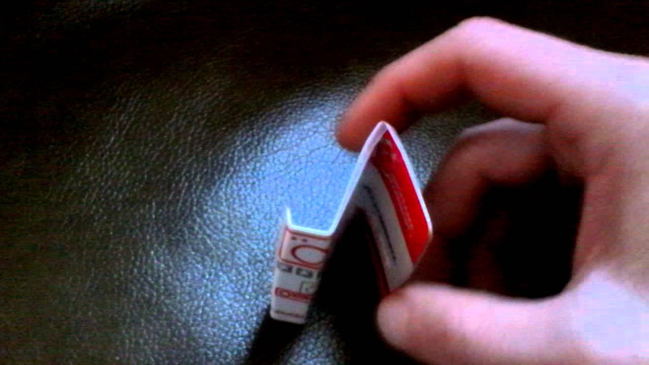 Как сделать подставку для телефона из карточки