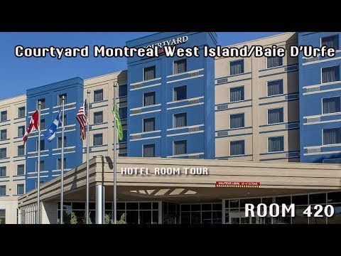 Hotel Room Tour - Courtyard Montreal West Island/Baie D'Urfe - Room 420