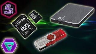 Recuperar el espacio de las memorias USB sin programas