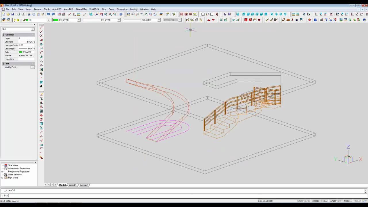 Arquitectura 3d Escaleras Forma Libre Y Rampas Avanzado