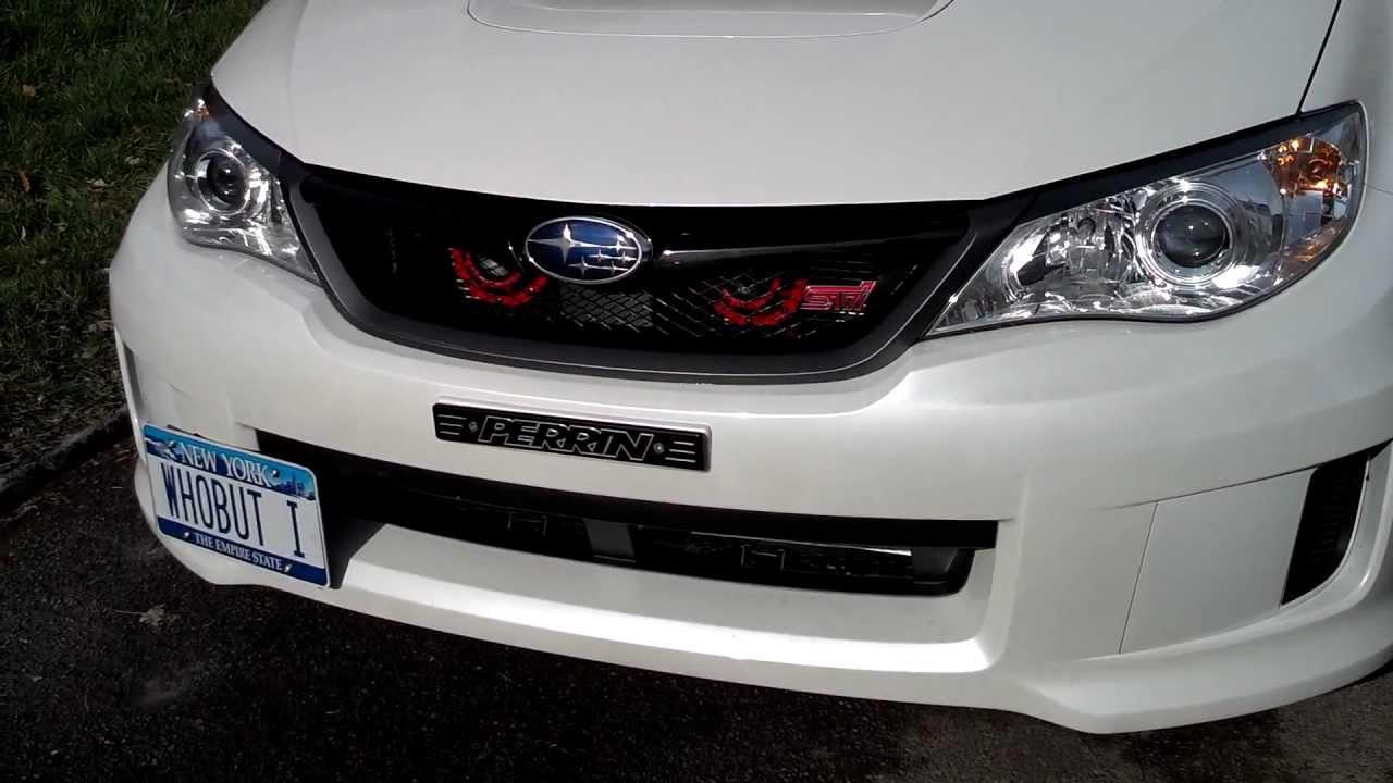 2013 Subaru Impreza Wrx Hatchback >> 2013 WRX STi, Hella horn - YouTube
