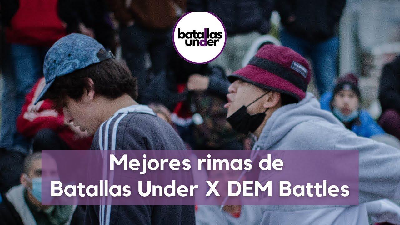 LAS MEJORES RIMAS DE BATALLAS UNDER X DEM BATTLES: CUPO MID SEASON 2021 - CONCEPCIÓN CHILE 🇨🇱