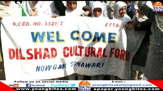 """""""Save water save life""""  organized  by Dilshad Cultural  Forum at Nowgam Sumbal"""