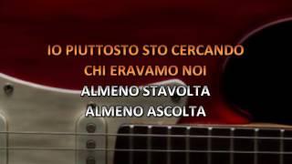Nek - Almeno Stavolta (Video karaoke)