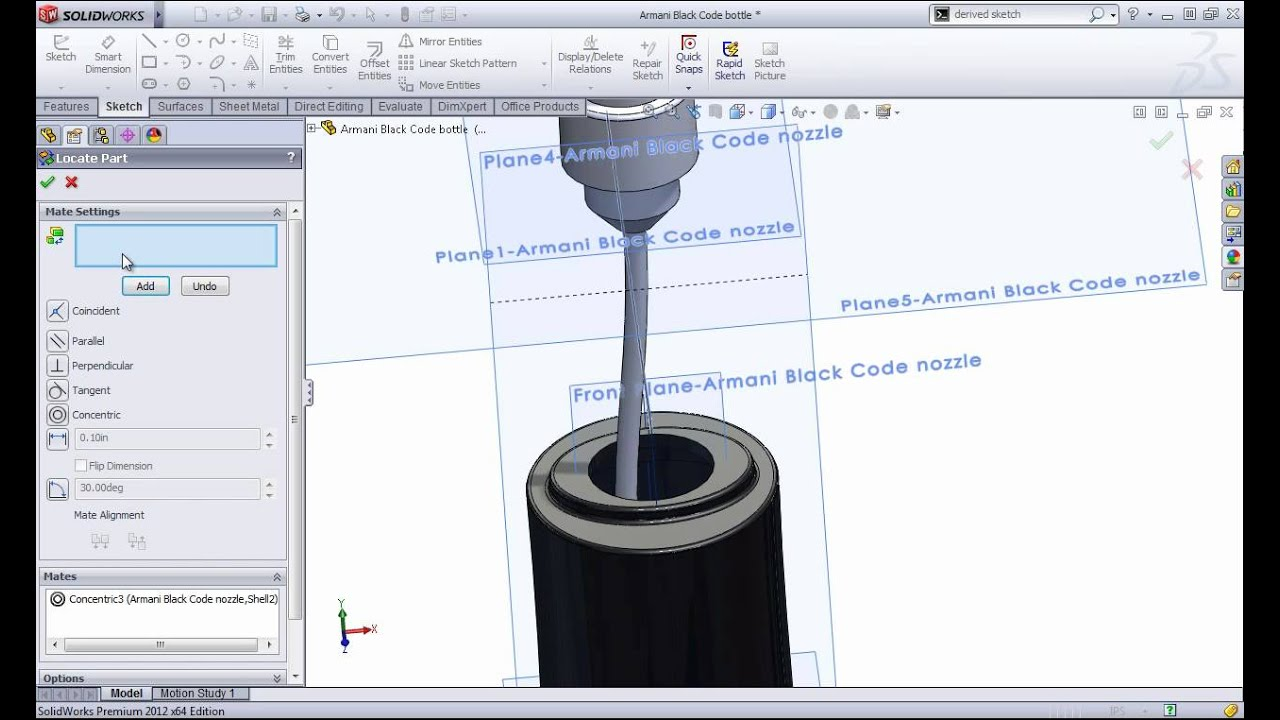 Combining Parts in SolidWorks   SolidWize – Online
