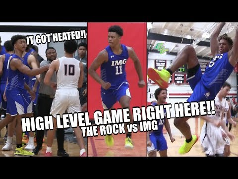 HIGH LEVEL GAME RIGHT HERE!! New IMG Team Vs The Rock Things Got Heated!! | Full Highlights