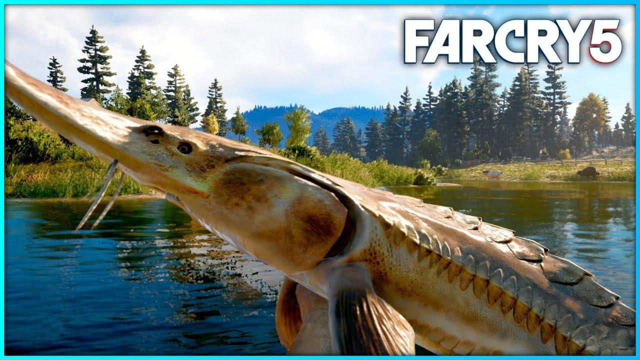 Far Cry 5: рыбалка