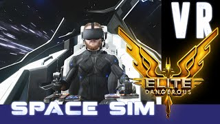 Elite Dangerous VR - Immersive Space Sandbox for Oculus Rift and HTC Vive [First Impressions]