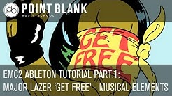 Ableton EMC2 Tutorial: Deconstructing Major Lazer 'Get Free' Part 1 - Musical Elements (Ableton)