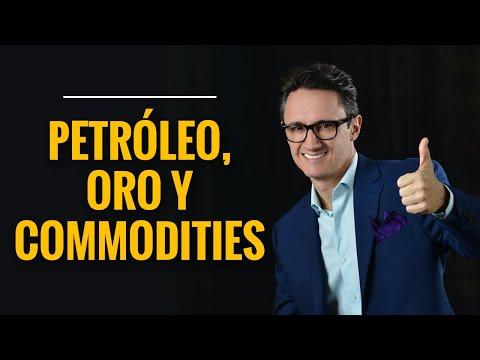 Negociación de petróleo, oro y otros commodities.